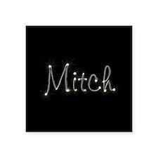 "Mitch Spark Square Sticker 3"" x 3"""