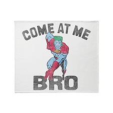 Captain Planet Throw Blanket