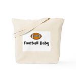 Football Baby Tote Bag