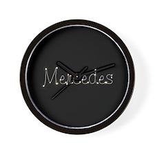 Mercedes Spark Wall Clock
