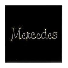 Mercedes Spark Tile Coaster