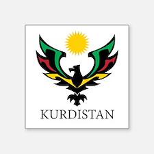 Kurdistan Eagle Big Sticker
