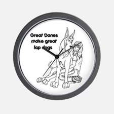 LapDogs Wall Clock