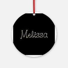 Melissa Spark Ornament (Round)