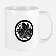 Ageha butterfly in circle Mug