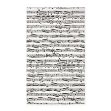 Music notes 3'x5' Area Rug