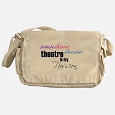 Cute Ballet Messenger Bag
