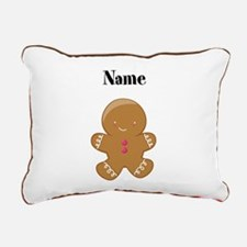 Personalized Gingerbread Man Pillow