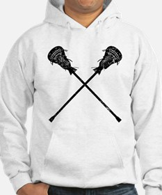 Distressed Lacrosse Sticks Hoodie