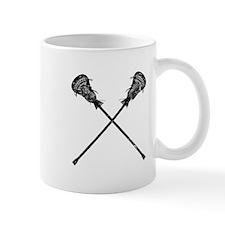 Distressed Lacrosse Sticks Mug