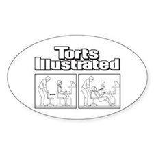 Torts Illustrated Decal