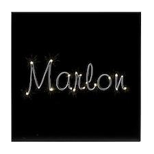 Marlon Spark Tile Coaster