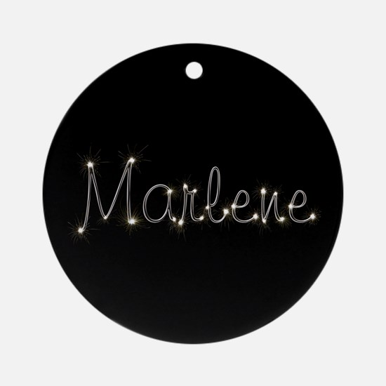 Marlene Spark Ornament (Round)