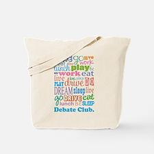 Debate Club Tote Bag