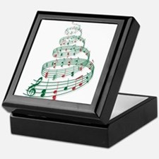 Christmas tree with music notes and heart Keepsake