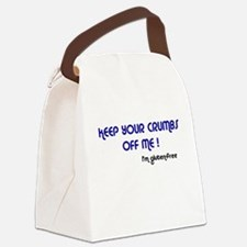 KEEP YOUR CRUMBS OFF ME ! Canvas Lunch Bag