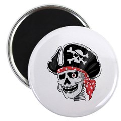 Pirate Skull 2.25