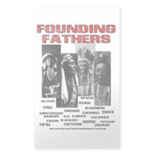 Native American, First Nations Founders Decal