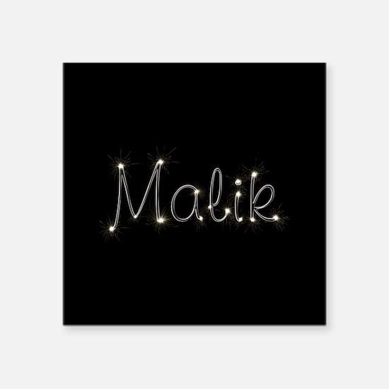 "Malik Spark Square Sticker 3"" x 3"""