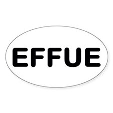 EFFUE Decal