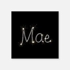"Mae Spark Square Sticker 3"" x 3"""