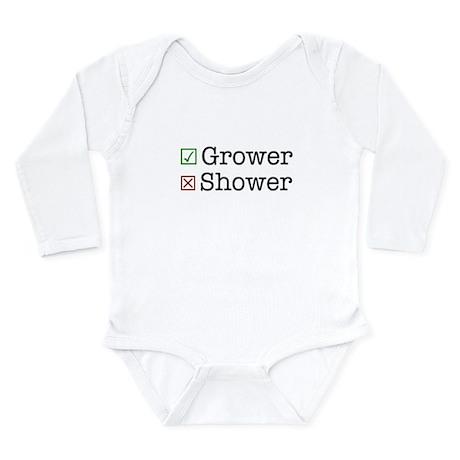 Grower Long Sleeve Infant Bodysuit