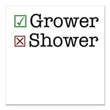 """Grower Square Car Magnet 3"""" x 3"""""""