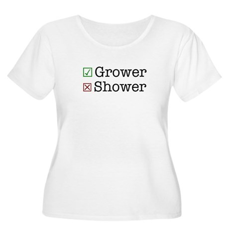 Grower Women's Plus Size Scoop Neck T-Shirt