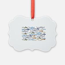 School of Sharks 1 Ornament