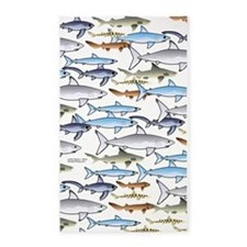 School of Sharks 1 3'x5' Area Rug