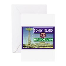 Coney Island Greeting Cards (Pk of 10)