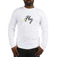 I Fly (black) Long Sleeve T-Shirt