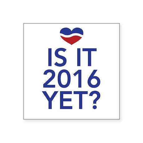 2016 heart Sticker