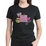 Love Joy Peace.png Women's Dark T-Shirt
