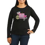 Love Joy Peace.png Women's Long Sleeve Dark T-Shir