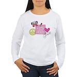 Love Joy Peace.png Women's Long Sleeve T-Shirt