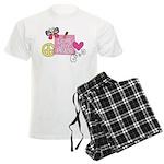 Love Joy Peace.png Men's Light Pajamas