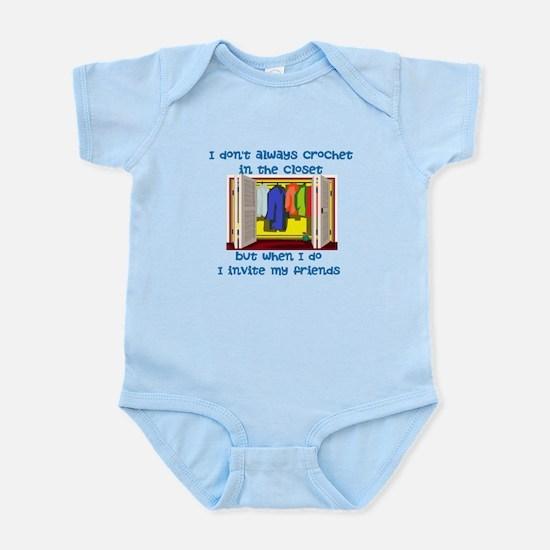 closetcrocheter Infant Bodysuit