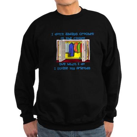 closetcrocheter Sweatshirt (dark)