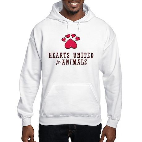 Centered Hooded Sweatshirt