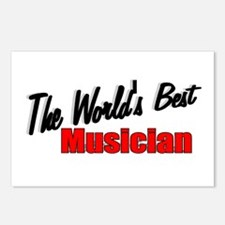 """The World's Best Musician"" Postcards (Package of"