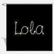 Lola Spark Shower Curtain
