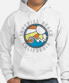 Imperial Beach Wave Badge Hoodie