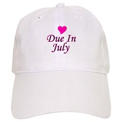 Due In July Baseball Cap