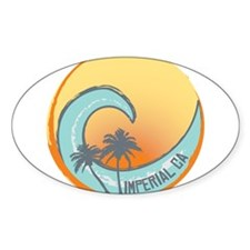 Imperial Beach Sunset Crest Decal