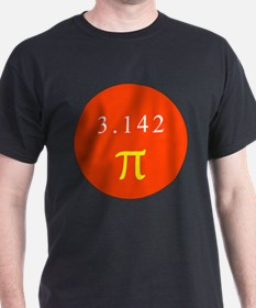 Pi - RED T-Shirt