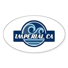 Imperial Beach Surfer Pride Decal