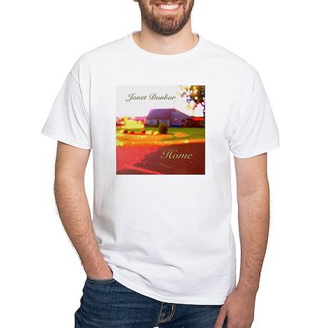Home by Janet Dunbar White T-Shirt
