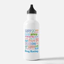 Drag Racing Water Bottle