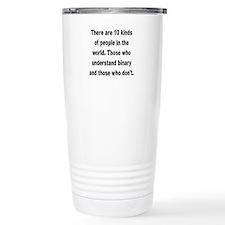 Unique Binary Travel Mug